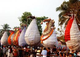 KuthiraVela at Chinakkathurkavu; Photo by Welcome Kerala Magazine